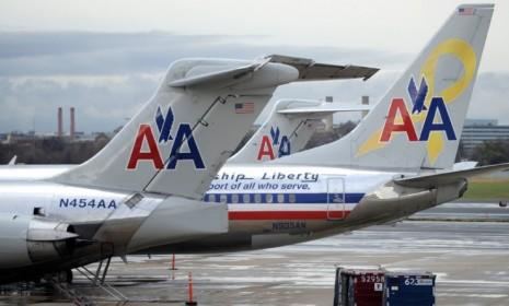 "An American Airlines passenger on a recent flight mishap: ""The seats flipped backwards... People were essentially on the laps of the people behind them with their legs up in the air."""