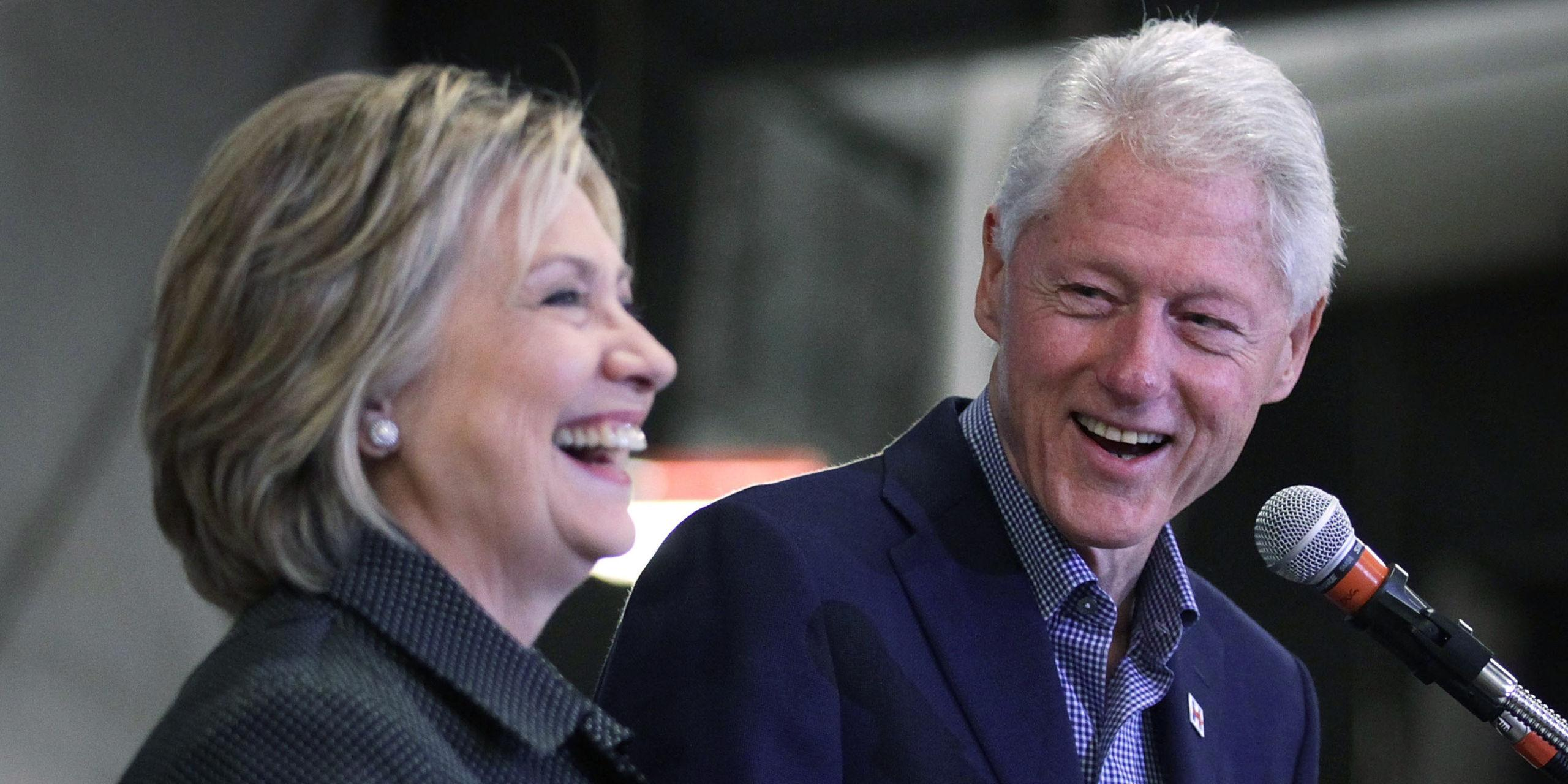 Bill Clinton Took Over HRC's Instagram and Was All Kinds of Charming