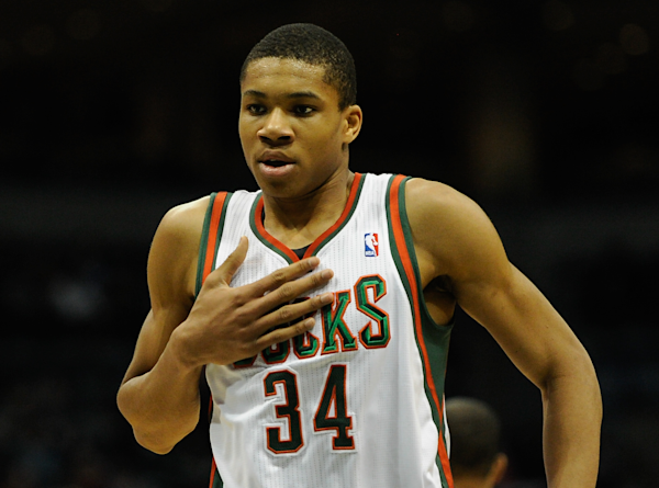 From street vendor to surging NBA player, Greek Freak ...
