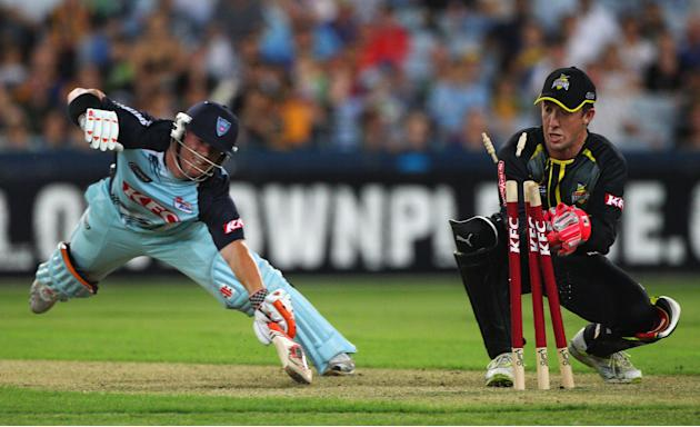 Twenty20 Big Bash - Blues v Warriors