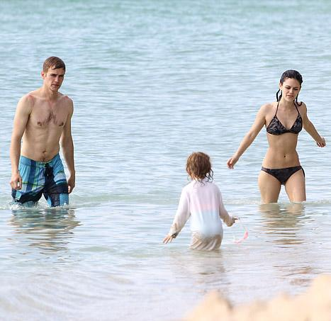 Rachel Bilson Flaunts Bikini Bod in Barbados with Shirtless Hayden Christensen