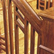 Custom Oak Railing