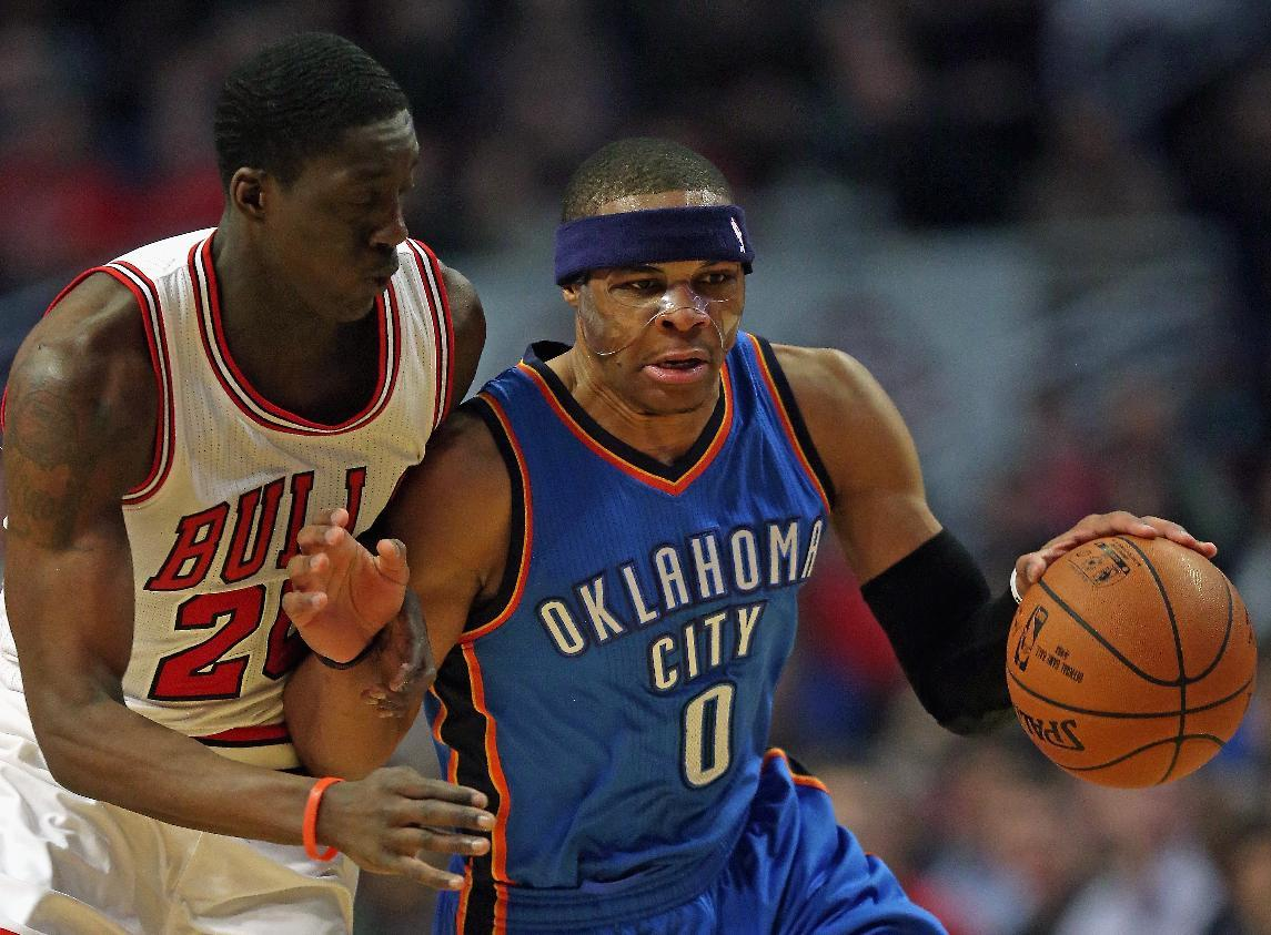 Bulls storm past Thunder despite Westbrook