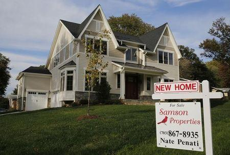 U.S. new home sales steady near multi-year highs; supply up