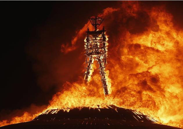 The Burning Man festival