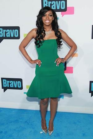 Porsha Stewart of 'The Real Housewives of Atlanta' attends the 2013 Bravo Upfront at Pillars 37 Studios on April 3, 2013 in New York City -- Getty Premium