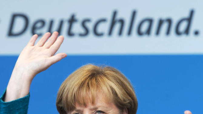 Merkel's conservatives triumph in Bavaria
