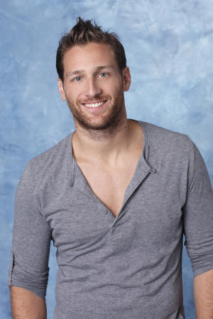 "This March 2013 publicity photo released by ABC shows Juan Pablo Galavis, a contestant on the past season of ""The Bachelorette."" Galavis will star in the 18th edition of ""The Bachelor"" which returns in January of 2014 on ABC. (AP Photo/ABC, Craig Sjodin)"