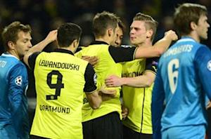 Borussia Dortmund 1-2 Zenit (Agg. 5-4): Hulk stunner not enough to halt Klopp's men