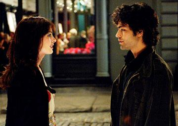 Anne Hathaway and Adrian Grenier in 20th Century Fox's The Devil Wears Prada