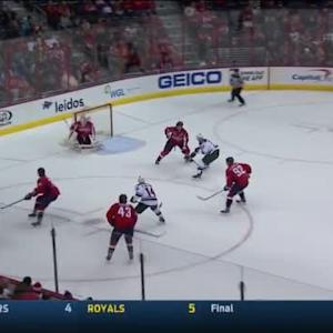 Braden Holtby Save on Jordan Leopold (17:47/2nd)