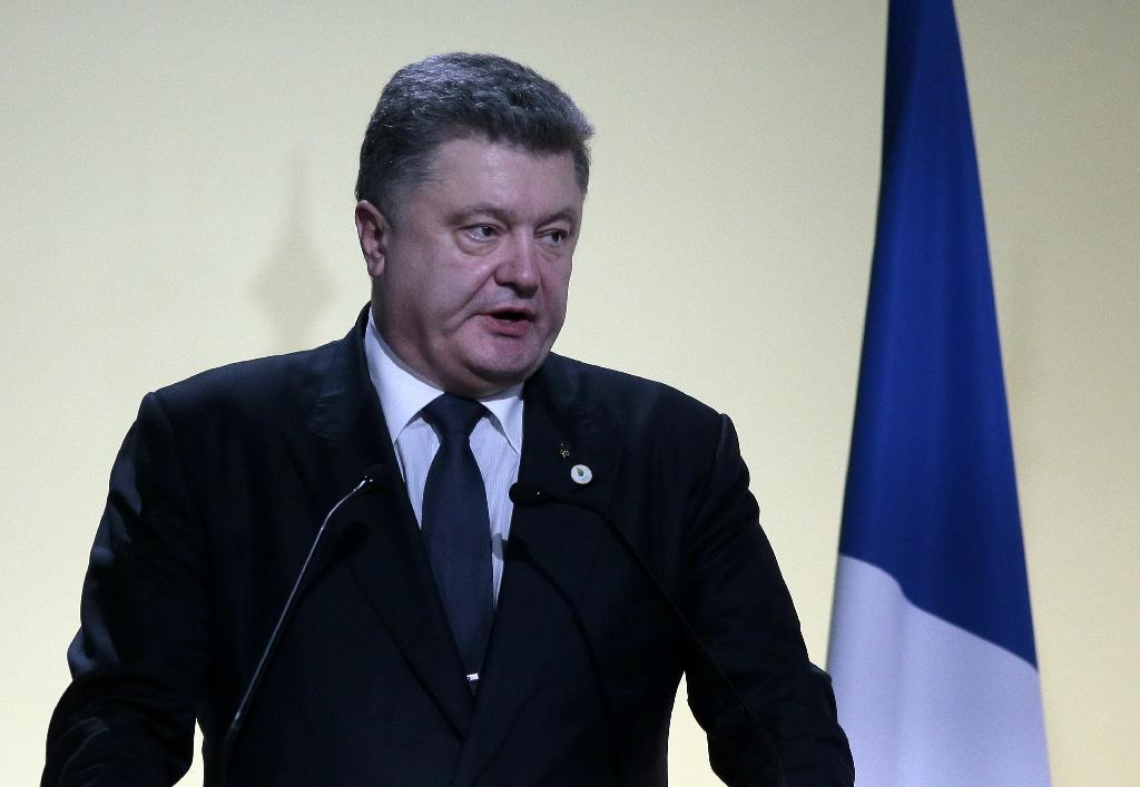 Russia causing 'environmental disaster' in Ukraine: Poroshenko