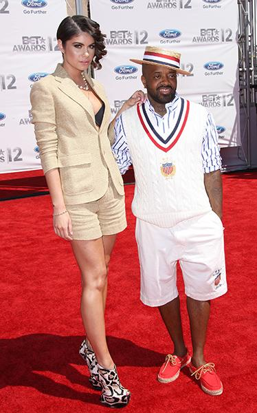 On the BET Awards red carpet this year