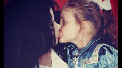 Paris Jackson Tweets Father's Day Pic