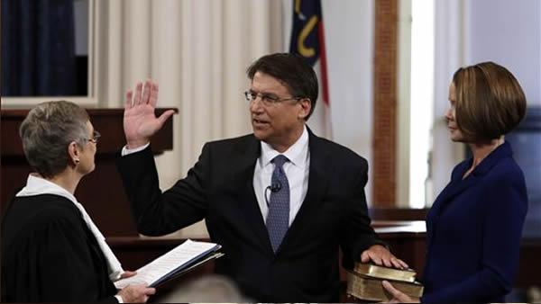 North Carolina has new governor