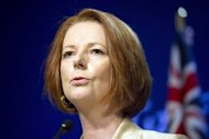 Australian Prime Minister Julia Gillard in 2011. Billionaire mining magnate Clive Palmer, who plans to run against Treasurer Wayne Swan, has called on Gillard to call an early election but said he does not want her job
