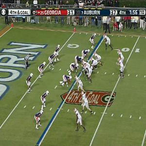 Georgia - Aaron Murray 4th Quarter Touchdown vs Auburn