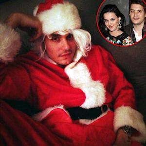 "Katy Perry Tweets John Mayer ""Santa Baby"" Picture"