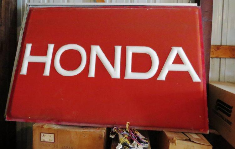 Honda Time Capsule - Huge Inventory of Honda Bikes and Memorabilia Up For Auction