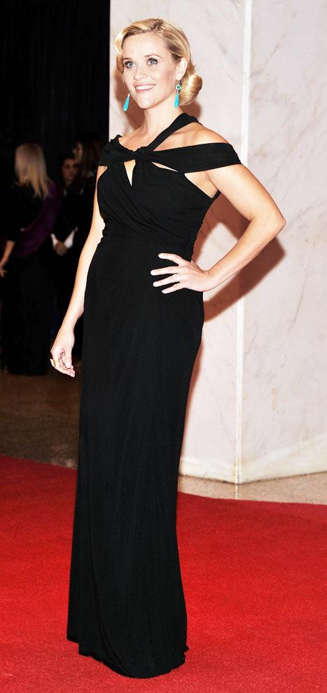 PIC: Pregnant Reese Witherspoon Stuns on Red Carpet Debut for White House Correspondents Dinner