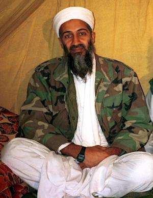 FILE - This is an undated file photo of al Qaida leader Osama bin Laden, in Afghanistan. Say you're sorry. That's what the Pakistani government says it wants from the United States in order to jump-start a number of initiatives between the two countries that would help the hunt for al-Qaida in Pakistan and smooth the end of the war in Afghanistan. Pakistan wants the U.S. to apologize for a border incident in November 2011 in which the U.S. killed 24 Pakistani troops in an airstrike. The Pakistanis have put the apology at the top of a long list of demands to address what they see as insults to national pride and sovereignty _ from the Navy SEAL raid onto Pakistani territory last year that killed Osama bin Laden to the steady U.S. drone strikes on Pakistani territory.  (AP Photo, File)