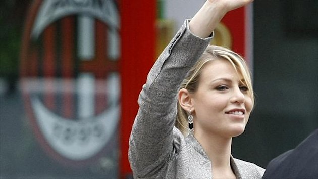 Barbara, daughter of AC Milan's President and Italian Prime Minister Silvio Berlusconi (Reuters)