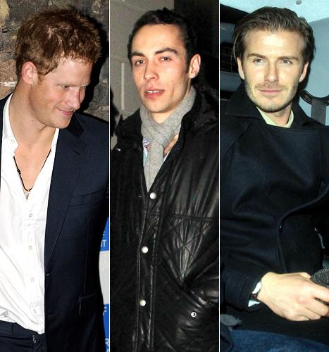 PICS: Prince Harry Parties With James Middleton, David Beckham