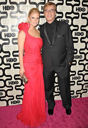 Aaron Sorkin Brings Carrie Keagan as His Date to the Golden Globes 2013