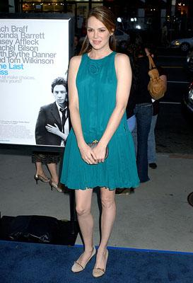 Jacinda Barrett at the LA premiere of Dreamworks Pictures' The Last Kiss
