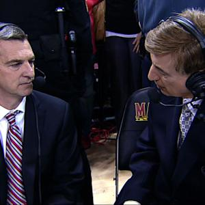 Turgeon and Allen on upset win over Virginia