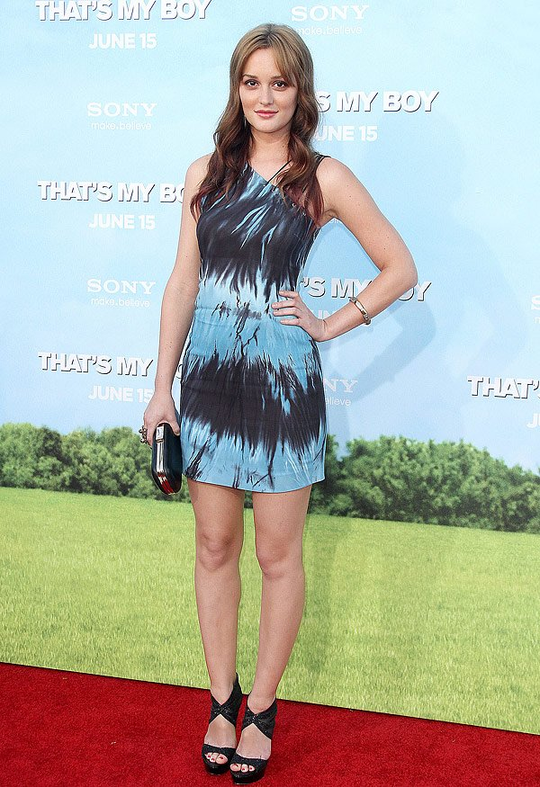 Leighton Meester's Tie-Dye Dress–Is It Lovely Or Too Loud?