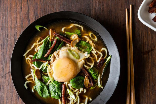 Bacon &amp; Egg Ramen