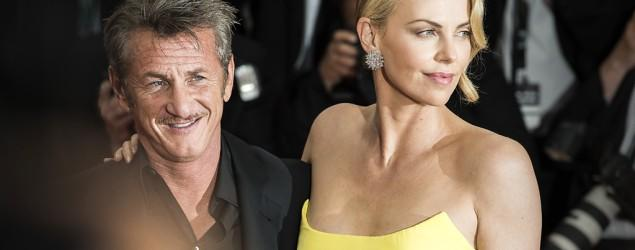 Sean Penn, Charlize Theron reunite on movie set