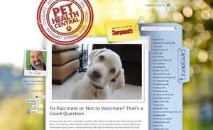 Sergeant's Pet Care Products, Inc. Launches Massive New Pet Health Blog