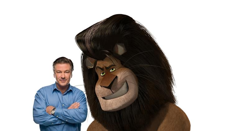 Alec Baldwin Madagascar: Escape 2 Africa Production Stills DreamWorks 2008
