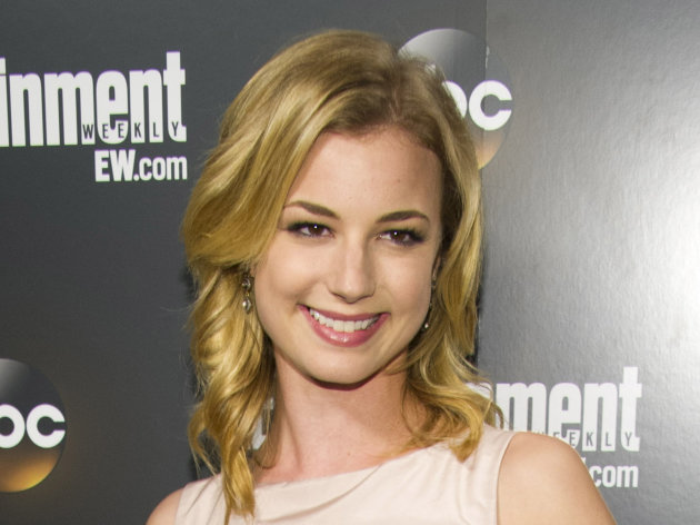 "FILE - This May 15, 2012 file photo shows actress Emily VanCamp attending the Entertainment Weekly and ABC Upfronts Party in New York. A year ago, Emily VanCamp worried no one would watch her TV show ""Revenge"" on ABC. Now, a year later, it's about to debut its second season and is one of the hottest shows on television. (AP Photo/Charles Sykes, file)"