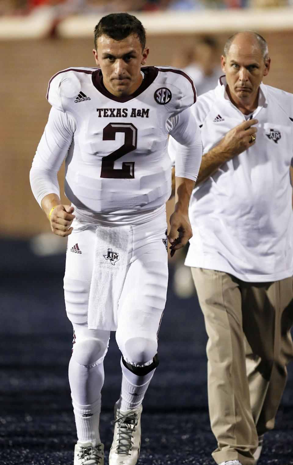 No. 9 Texas A&M beats Mississippi 41-38
