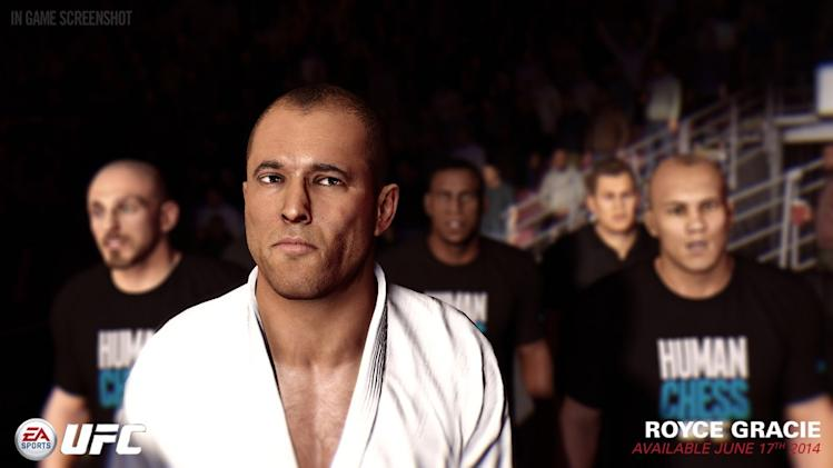 Royce Gracie Joins Bruce Lee in Upcoming EA Sports UFC Video Game