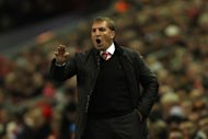 Brendan Rodgers, pictured, hopes Stewart Downing's goal will 'help his confidence'