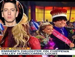 Eminem's Daughter Hailie Scott Wins Homecoming Queen: Picture