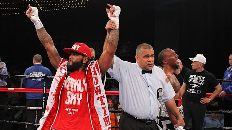 Boxing: Curtis Stevens vs Derrick Findley