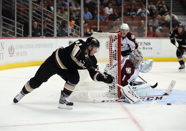 Colorado Avalanche v Anaheim Ducks