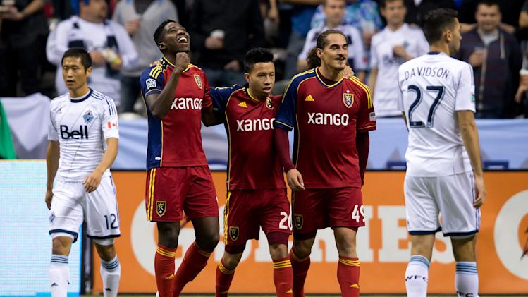 Sandoval lifts Real Salt Lake past Whitecaps