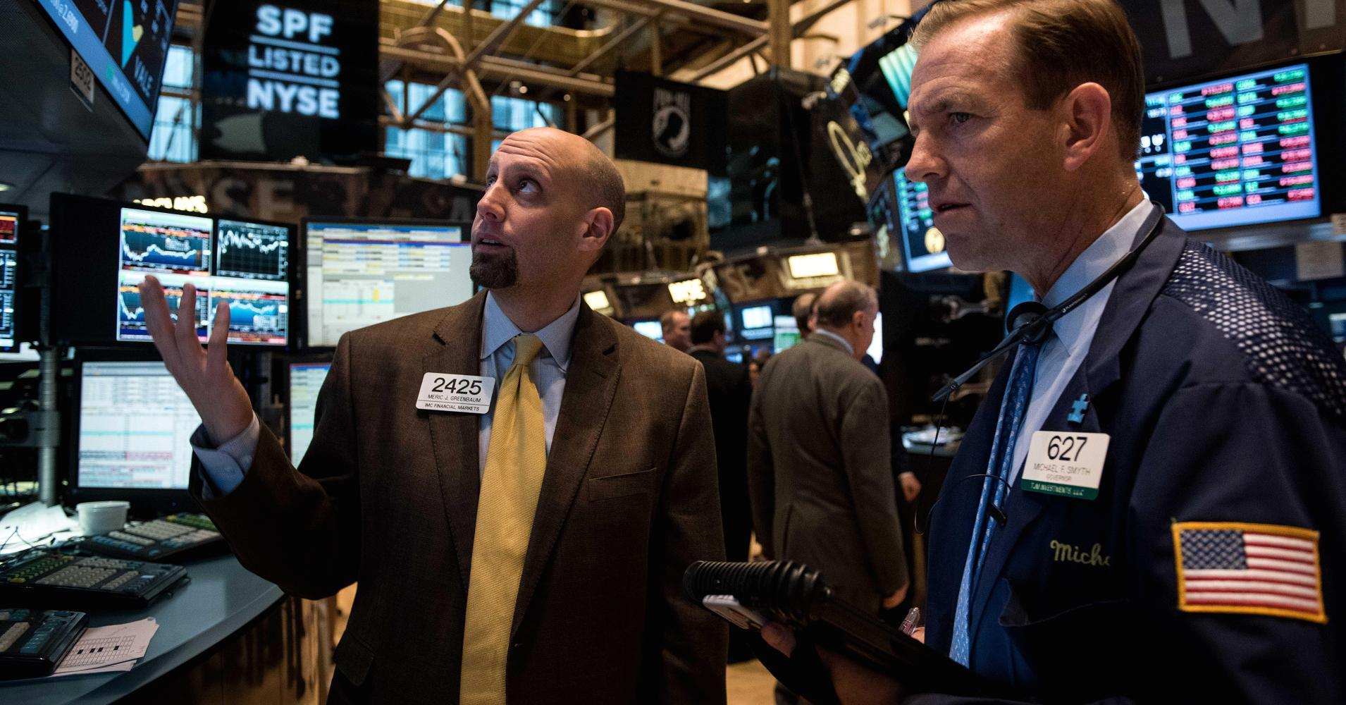 Stocks end lower as Greece weighs, transports lag
