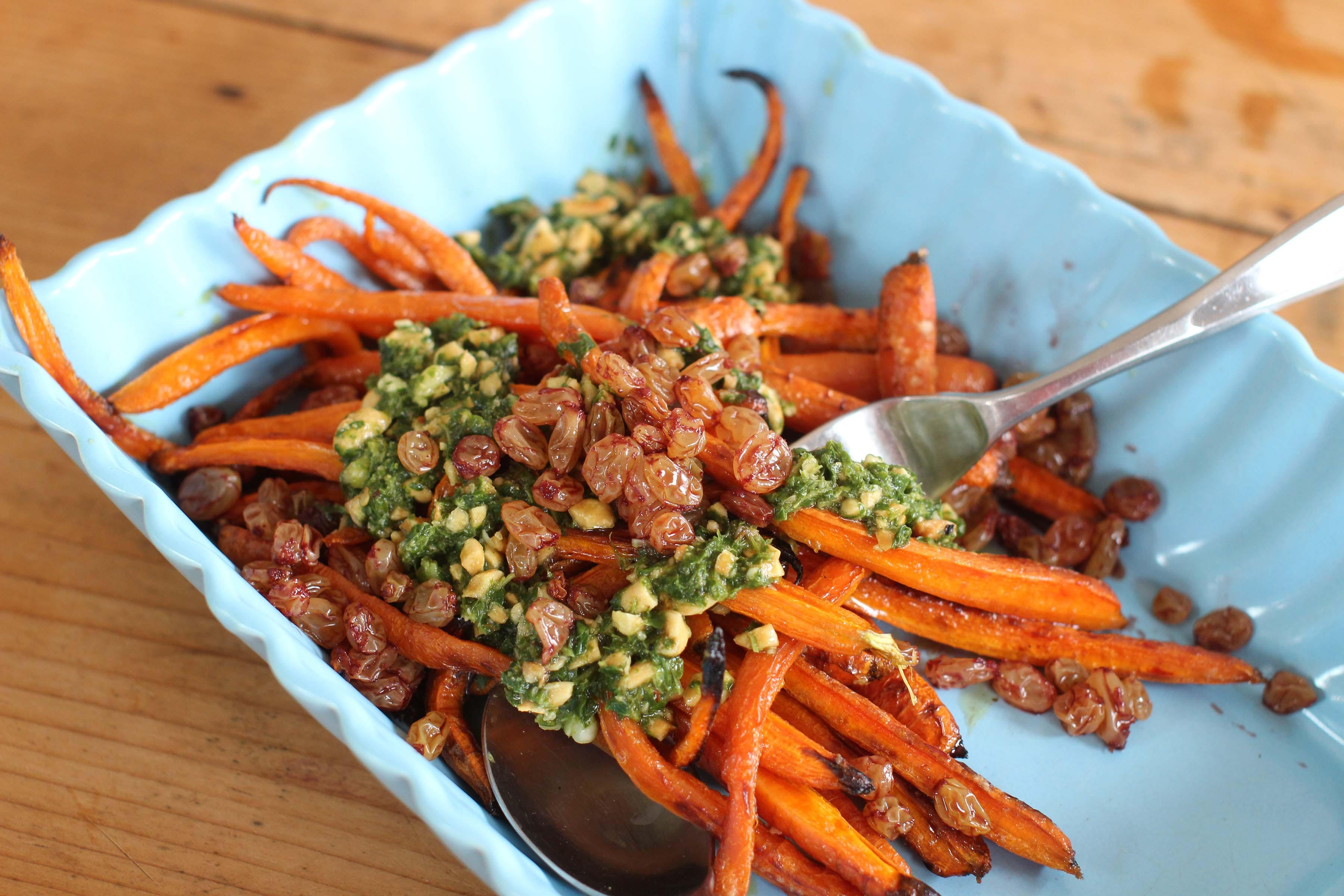 Dill and butter? Dull. Take carrots to a robust new level