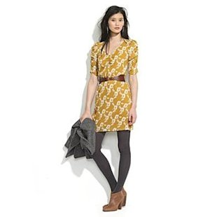 yellow dress booties ankle madewell