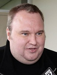 Megaupload boss Kim Dotcom (pictured in February) has revived plans to launch a new online music venture this year and hinted at the return of the file-sharing site that led him to face online piracy charges