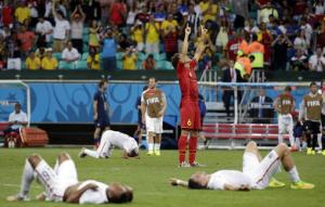 Belgium falls short at World Cup