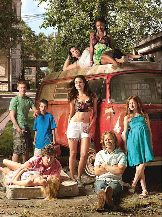 "The cast of ""Shameless."""