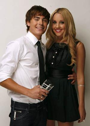 Zac Efron and Amanda Bynes in 2007 -- Getty Premium
